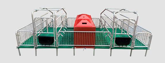 安全缩管技术仔猪分隔栏